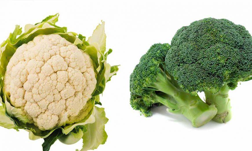 Karfiol i brokoli